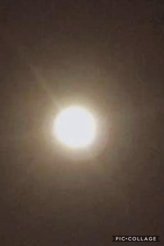 今年最初の満月